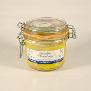 foie gras de canard entier conserve 180g