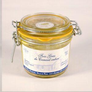 Foie gras de canard entier conserve 300g