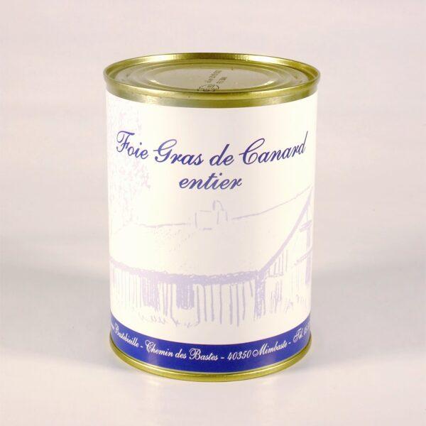 Foie gras de canard Entier conserve 500g
