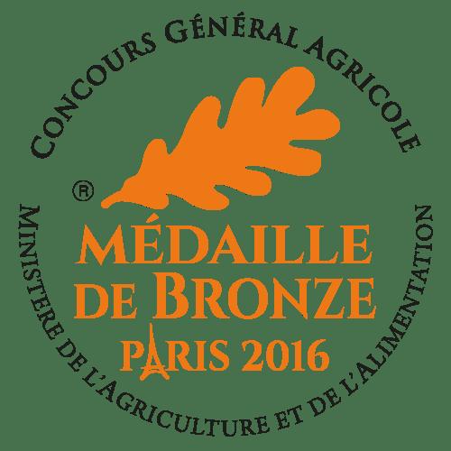 Ferme Bastebieille Medaille De Bronze 2016 Concours General Agricole