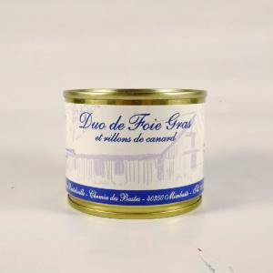 Rillette au foie gras de canard