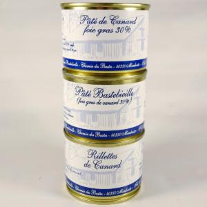 rillette et pate au foie gras