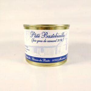 pâté bastebieille au foie gras